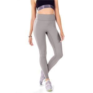 FABLETICS High-Waisted Back Pocket grey leggings
